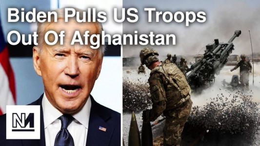 Biden Announces Withdrawal From Afghanistan
