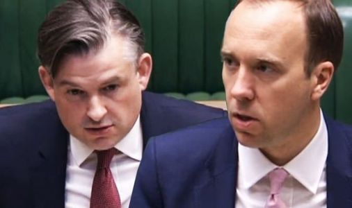 Matt Hancock slaps down Jonathan Ashworth after Labour chief dubs Boris Johnson 'crass'