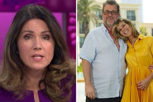 Susanna Reid and Piers Morgan send support to Kate Garraway's husband