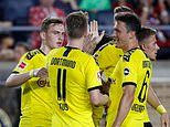 Liverpool 2-3 Borussia Dortmund: Reds fall to first pre-season defeat