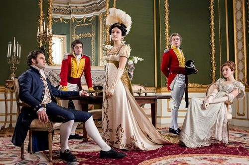 Meet the cast of Vanity Fair