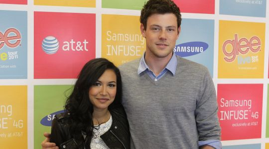 'Cory truly adored you': Cory Monteith's mum pays tribute to Naya Rivera as Glee star's body found on anniversary of son's death