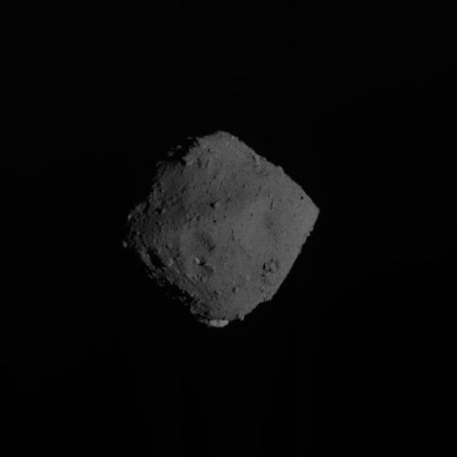 Japanese sample return craft departs asteroid, heads for Earth