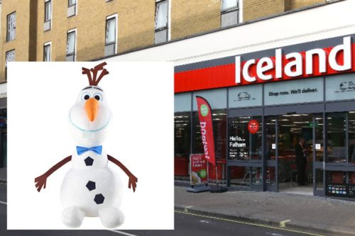 Giant Olaf toys are now half price at Iceland - down to just £20