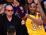 Jack Nicholson gives rare interview to pay tribute to Kobe Bryant'
