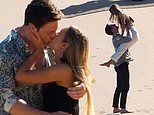 The Bachelor's Matt Agnew and Chelsie McLeod kiss during their final date