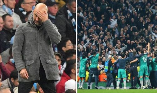 Man City fans FURIOUS as they blame VAR CONSPIRACY for dramatic Tottenham defeat