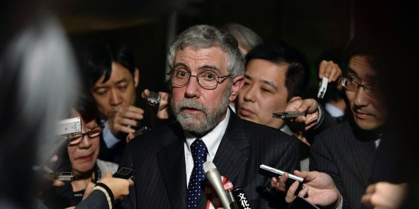 Nobel-winning economist Paul Krugman sees unemployment soaring to 20% in a matter of weeks