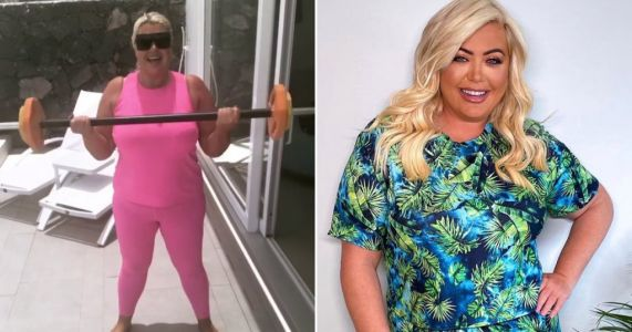 Gemma Collins is all about the 'Sunday burn' as she continues fitness journey