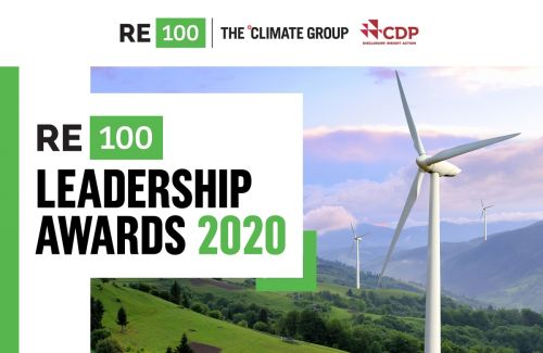 RE100 Leadership Awards 2020: companies going above and beyond to accelerate a clean energy future