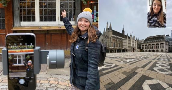 London guide makes her walking tour of capital's hidden spots a virtual experience
