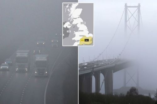 UK weather forecast: 'Severe' fog causes travel CHAOS before temperatures soar