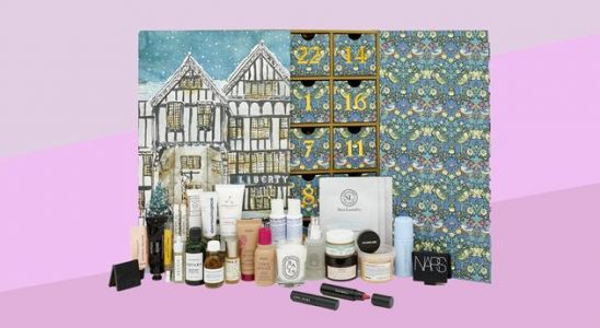 The 2019 Liberty London Beauty Advent Calendar Has An Impressive Line-Up Of Products