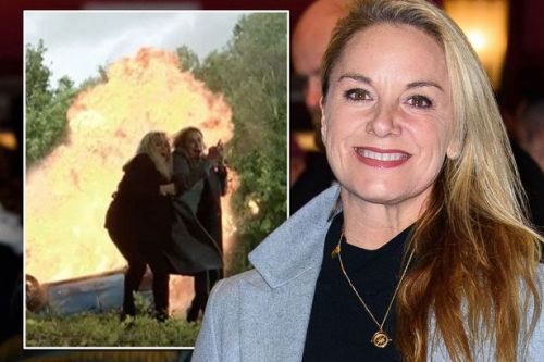 EastEnders actress Tamzin Outhwaite 'emotional' as Mel Owen killed off in crash horror