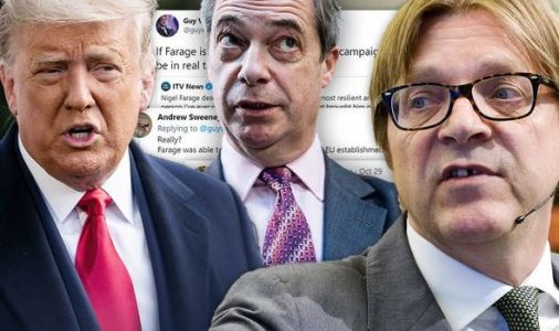 Guy Verhofstadt brutally ripped apart after jibe at Farage - 'Bitterness will eat you up!'