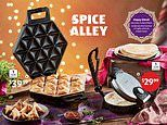 Aldi is set to launch a $39.99 samosa maker as part of an Indian cooking Special Buys range