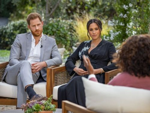 Meghan Markle And Prince Harry Receive Celebrity Support Online After Oprah Interview