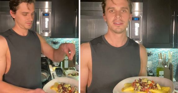 Cooking lessons in quarantine: Queer Eye's Antoni Porowski launches mini-series with simple recipes