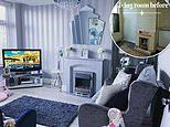 Mother-of-two carries out a family home transformation on a property opposite her childhood home