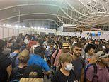 Bali chaos as thousands of Australian tourists are left stranded at Denpasar airport