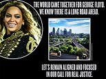 Beyonce responds to Minnesota AG's decision to charge all four officers in George Floyd killing