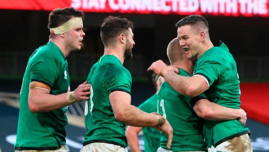 Keith Earls double helps Ireland to victory over Scotland as Eric O'Sullivan makes international debut at Aviva Stadium