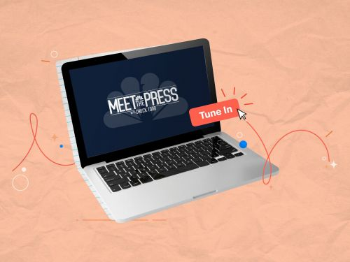 NBC News launched a 'Meet the Press' video series with college journalists acting as the press - here's what it covers and how to watch