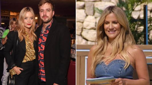 Laura Whitmore 'just wants privacy' to mourn Caroline Flack as she reunites with Iain Stirling