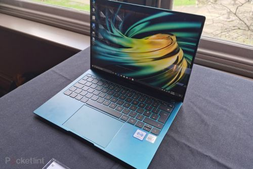Huawei refreshes its range-topping laptop, the MateBook X Pro