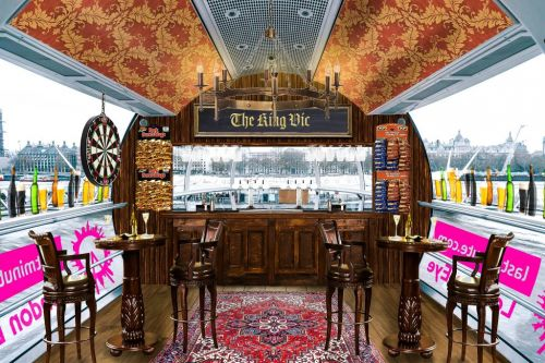 The London Eye becomes a pub to celebrate its 20th birthday