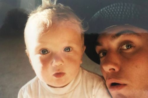 Jude Law's lookalike son Rafferty shares cute throwback snap of his dad