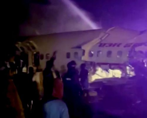 14 Dead As Air India Plane Breaks In Two In Kerala