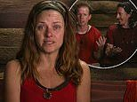 I'm a Celebrity's Toni Pearen breaks down when Gogglebox's Adam Densten and Symon Lovett enter camp