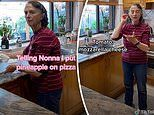 The hilarious moment an Italian Nonna settles a pizza topping debate