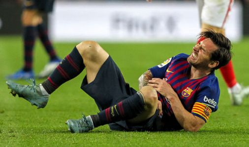 Lionel Messi injury: Valverde admits 'major' Barcelona worry ahead of Real Madrid clash