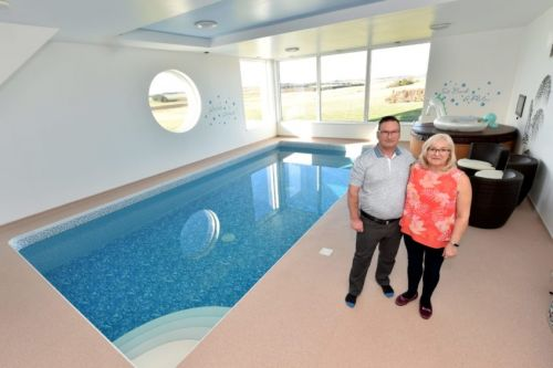 From the indoor swimming pool to the gorgeous grounds, this stunning north-east home was built to break the mould
