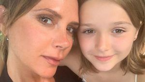 Victoria Beckham and daughter spread positivity by FaceTiming nurses in London