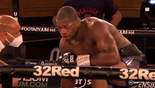 Daniel Dubois complained about eye nerve damage after shock Joe Joyce KO loss