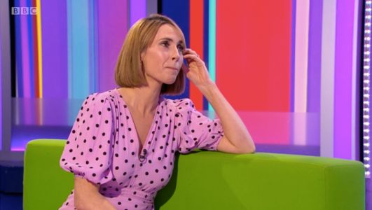 The One Show's Alex Jones holds back tears as she bids farewell to Matt Baker