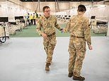 Army join the front line in war on coronavirus as squaddies finish Nightingale Hospital in London