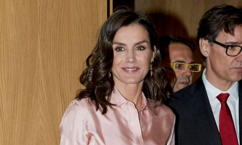 Queen Letizia's gorgeous Reiss skirt is in the sale - and it comes in two other colours