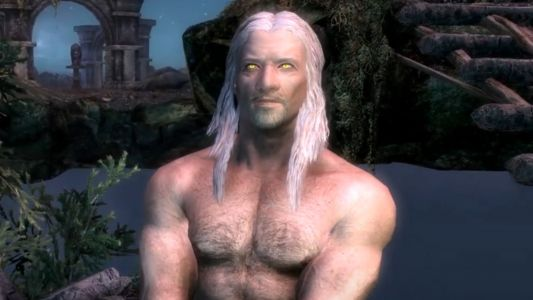 Skyrim gets Witcher as a playable race