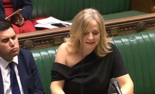 'I'm Not A Slapper': Labour MP Tracy Brabin Hits Back At Criticism Of One Shoulder Dress In Parliament