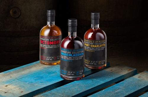 Master distiller Jim McEwan unveils signature collection of Islay malts ahead of online auction