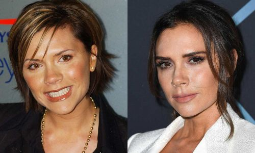 Victoria Beckham reveals the secret to drastically improving her eyebrows after overplucking in the 90s