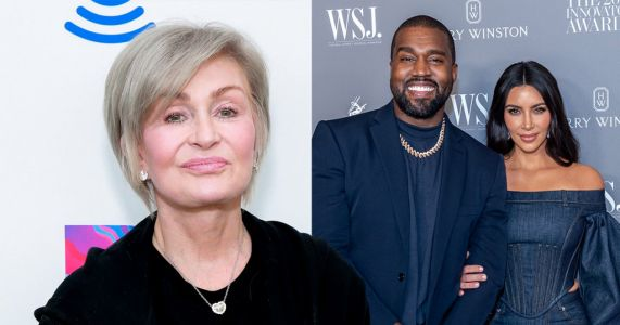 Sharon Osbourne hits out at 'cringe' Kanye West for bragging about Kim Kardashian's billionaire status