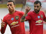 Bruno Fernandes hails Mason Greenwood for his breakthrough season at Manchester United