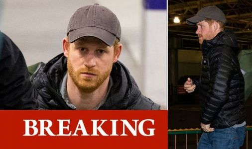 Prince Harry spotted in Edinburgh station as he returns to UK for FIRST time since Megxit