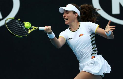 British No.1 Jo Konta crashes out of the Australian Open in Melbourne
