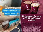 Teen reveals how he got £100-worth of free food and drink from Costa